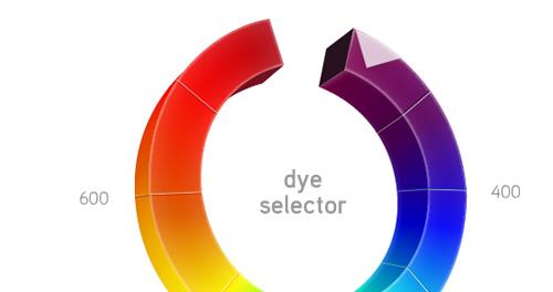 Dye Selector