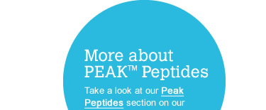 More about PEAK Peptides