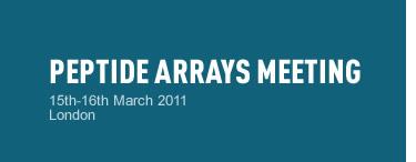 Peptide Arrays Meeting